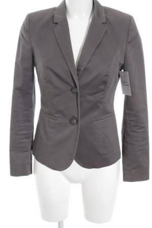 Sisley Smoking-Blazer grau Business-Look
