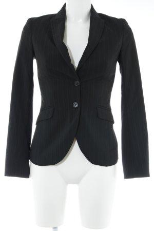 Sisley Smoking-Blazer schwarz-grau Nadelstreifen Business-Look