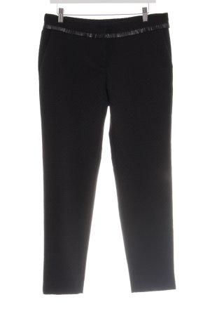 Sisley Stoffhose schwarz klassischer Stil