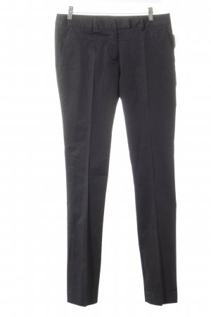 Sisley Stoffhose schwarz Business-Look