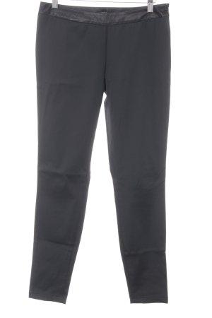 Sisley Pantalone jersey nero stile professionale