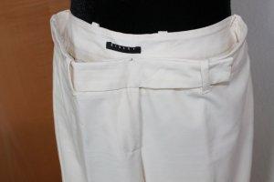 Sisley Pantalone Marlene bianco-bianco sporco
