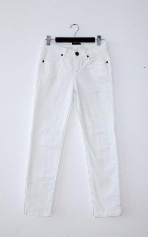 Sisley Spijkerbroek wit Katoen