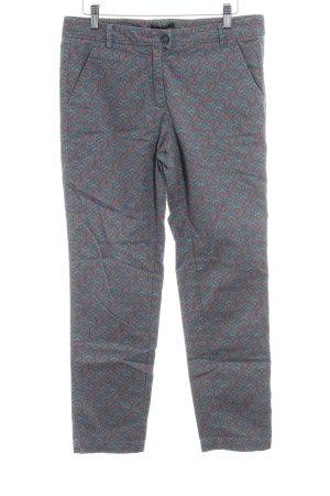 Sisley Straight-Leg Jeans rostrot-kadettblau Kunstmuster Urban-Look
