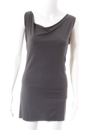 Sisley Stretchkleid grau Casual-Look