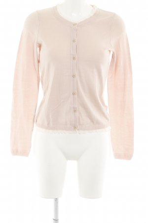 Sisley Strickjacke rosé Casual-Look