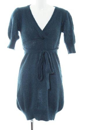Sisley Strickkleid blau Casual-Look