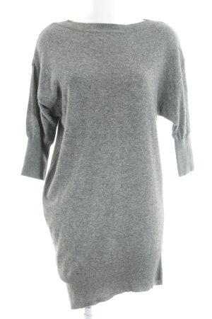 Sisley Strickkleid grau Casual-Look