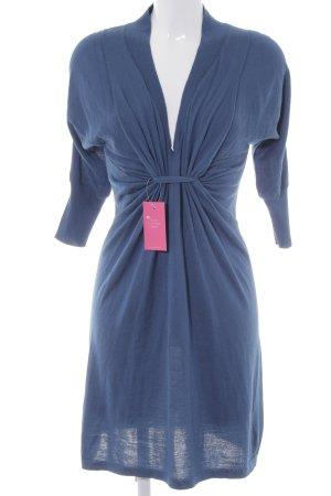 Sisley Strickkleid kornblumenblau Casual-Look