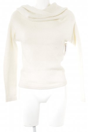 Sisley Strickpullover creme Casual-Look