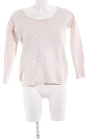 Sisley Strickpullover rosé Casual-Look