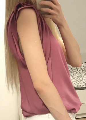 Sisley Blusa sin mangas multicolor