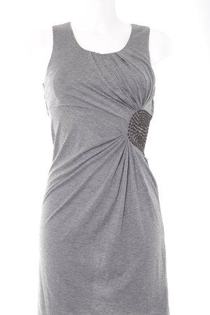 Sisley Trägerkleid grau meliert Casual-Look