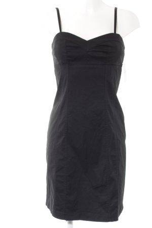 Sisley Trägerkleid schwarz Casual-Look
