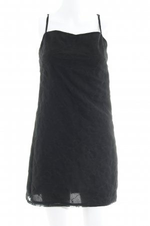 Sisley Robe à bretelles noir élégant