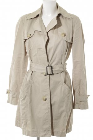 Sisley Trenchcoat hellbeige Business-Look