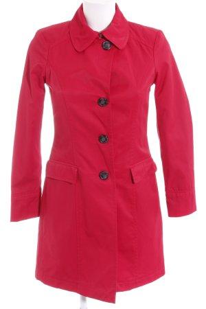 Sisley Trenchcoat rot bezogene Knöpfe