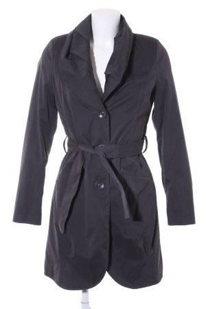 Sisley Trenchcoat schwarz schlichter Stil