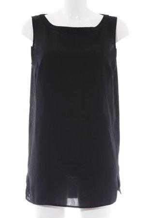 Sisley Tunikabluse schwarz Elegant