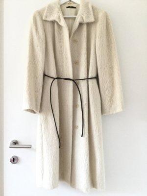 Sisley Manteau blanc cassé laine