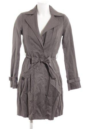 Sisley Camicetta aderente grigio chiaro stile classico