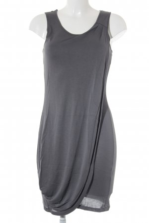 Sisley Wickelkleid grau Casual-Look