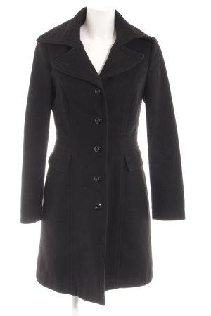 Sisley Abrigo de invierno negro estilo «business»