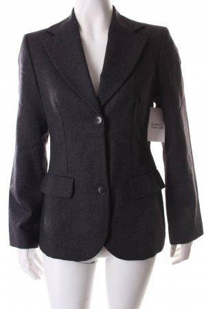 Sisley Woll-Blazer grau Business-Look