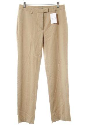 Sisley Woolen Trousers camel simple style