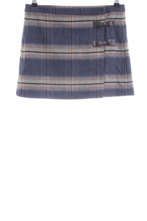 Sisley Wool Skirt check pattern casual look