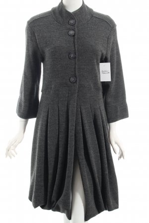 Siste's Knitted Coat anthracite classic style