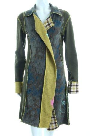 Sistemfive Lange Jacke mehrfarbig Casual-Look
