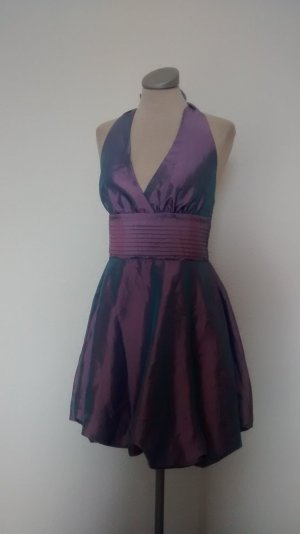 sisters point Cocktailkleid Neckholder Kleid Lila Flieder Gr. M 38 neu