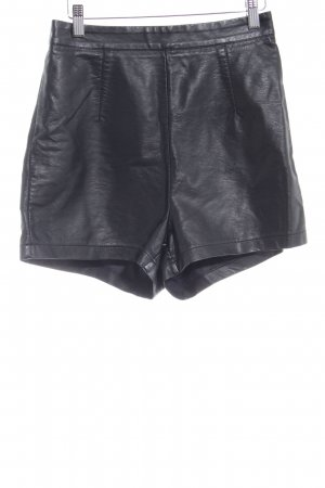 Sisters point High-Waist-Shorts schwarz Party-Look