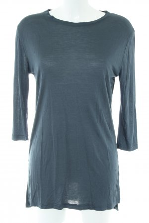 Sisters point Longshirt blau Casual-Look