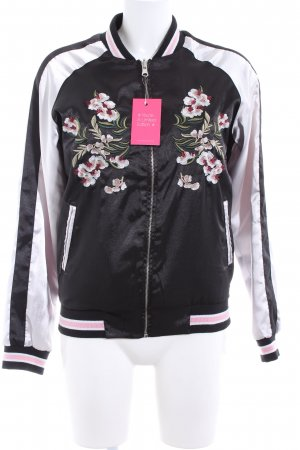 Sisters point Chaqueta reversible estampado floral look casual