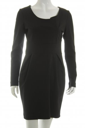 sita murt Langarmkleid schwarz Business-Look