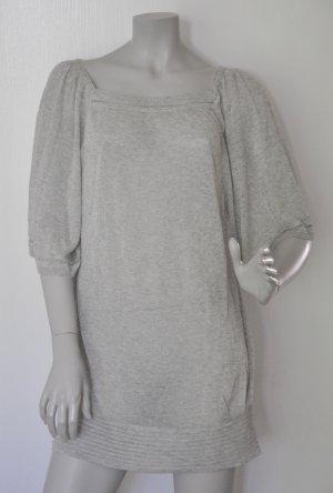 Sita Murt Oversize Pullover Longpulli grau leicht silbrig Gr. 40 – WIE NEU