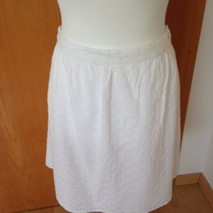 Christian Berg Lace Skirt white cotton