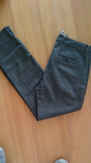 Siviglia Woolen Trousers grey wool