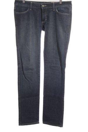 Siwy Straight-Leg Jeans dunkelblau Jeans-Optik