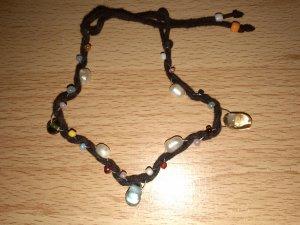 Six Armband mit Perlen bunt