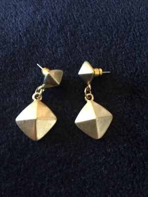 Six: Goldene Ohrringe Ohrhänger Stecker NEU