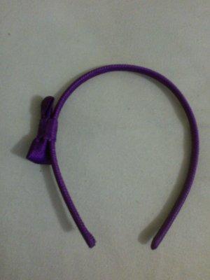 Six Haarreif mit Schleife lila