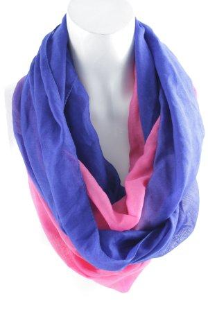 Six Halstuch blau-magenta Farbverlauf Casual-Look