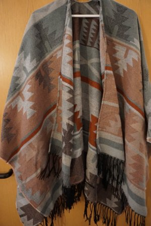 Six Poncho multicolored