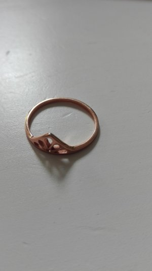 SIX Ring 17 Rosegold sterling silber rose Dreieck