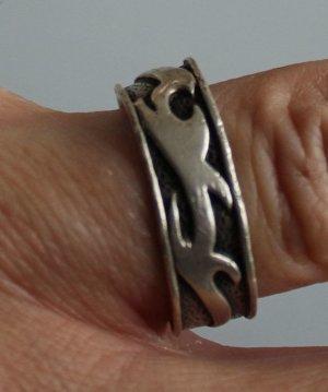 SIX Ring Echtsilber 925 gestempelt