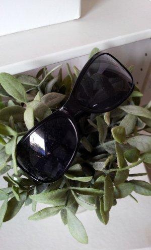 Six Sonnenbrille in Schwarz - Details in Silber