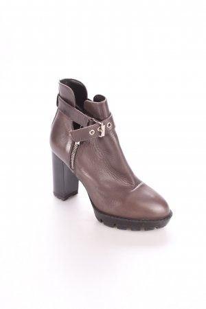 Sixt Cut-Out-Stiefeletten anthrazit